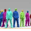 Modelli 3D di persone gratis da XOIO